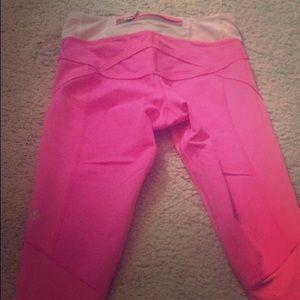 LululemonAthletica hot pink leggings/workout pants